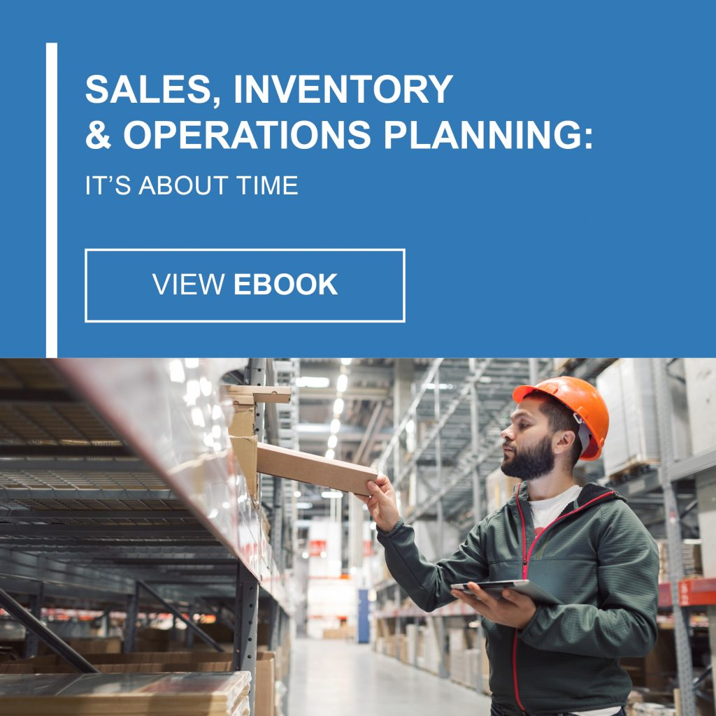Sales Inventory and Operations Planning eBook
