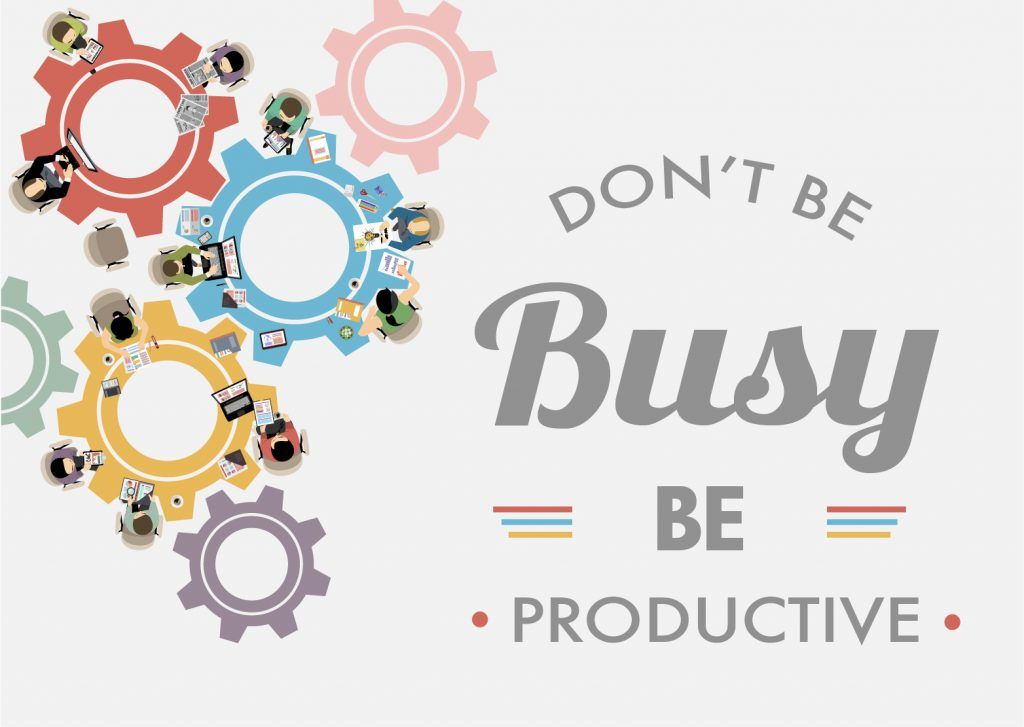 Each employee needs to be productive.